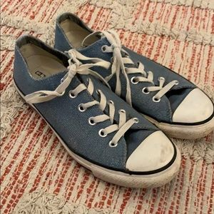 Blue CONVERSE Shoes Sneakers Woman's size 8.5